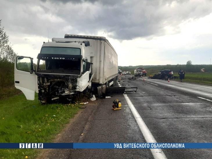 За неделю на дорогах Витебской области произошло 5 аварий, погибли 2 человека