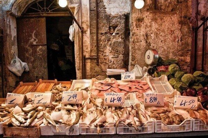 рыбный рынок сицилийский