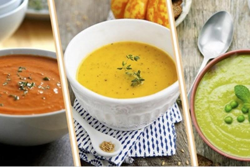 супы-пюре-диетические 5 рецептов