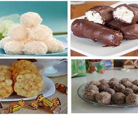 рецепты сладостей без выпечки