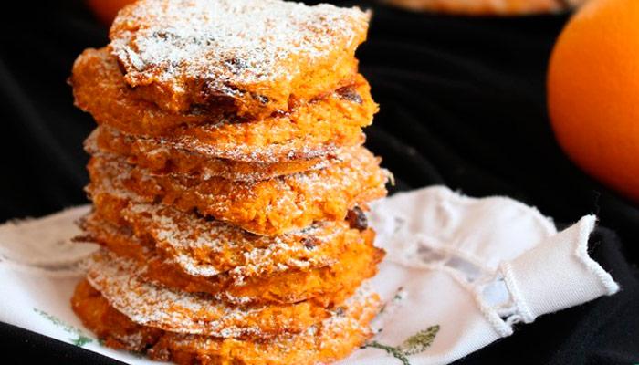 овсяное печенье с морковкой