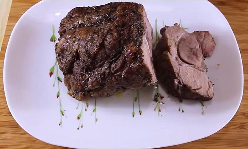 Sæt kød i ærmet