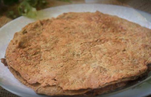 Томат құюы бар қаймаққа гепатикалық торт