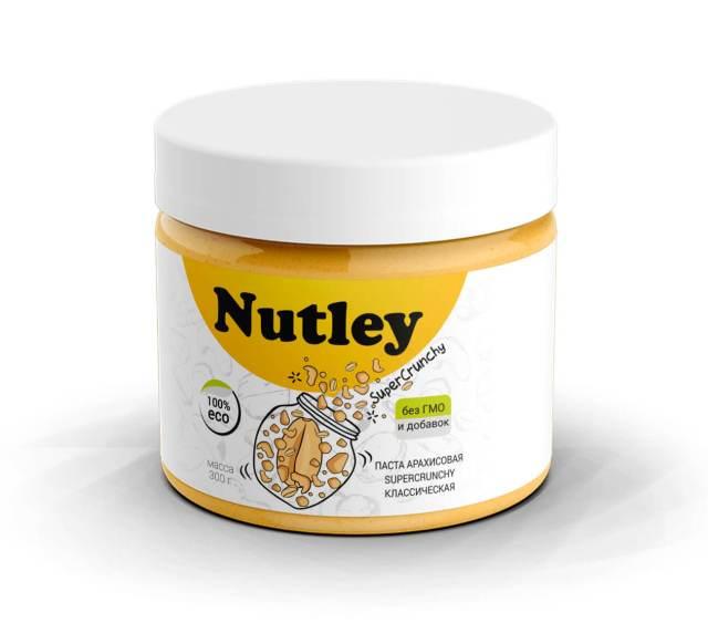 Арахисовая паста Nutleyклассическая