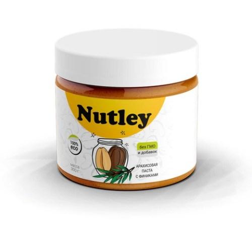 Арахисовая паста Nutleyс финиками