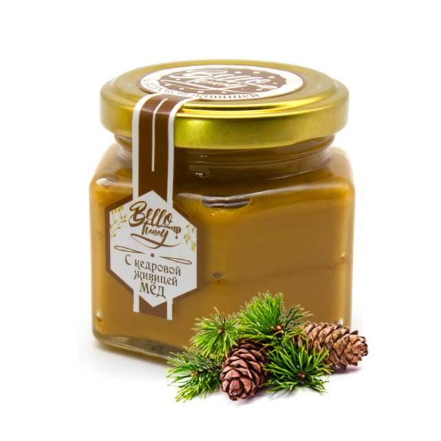 мед с кедровой живицей