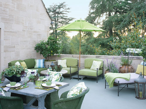 Greystone Estate terrace via Pinterest