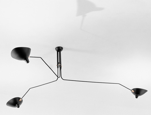 MCL-R3 Simple and elegant, this ceiling lamp makes a dramatic addition to a variety of room settings.