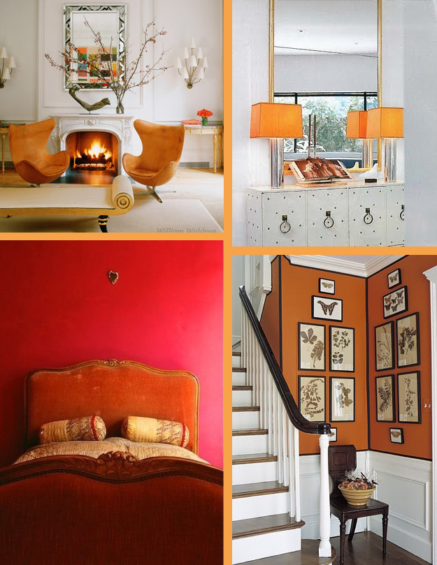 Color of the month orange