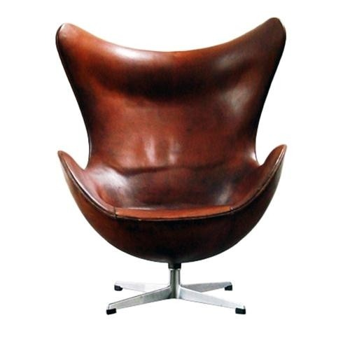 Vintage Egg chair in leather