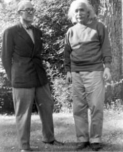 Men of Genius - Le Corbusier and Einstein