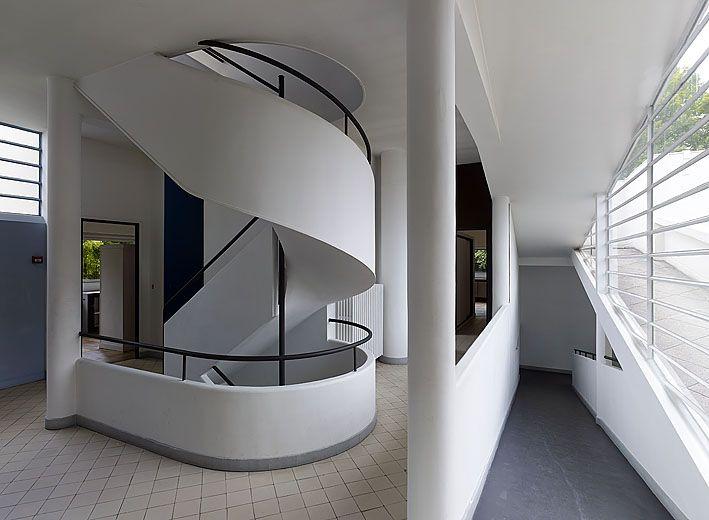 Villa Savoye interior