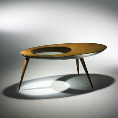 The Coffee Table, designed in 1920, now selling for an amazing USD 100.000, anyone interested? - via Design Buzz