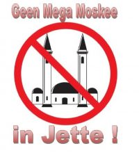 Geen supermoskee in Jette !