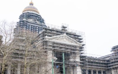 Restauratie gevels Justitiepaleis Brussel niet afgerond voor 2030