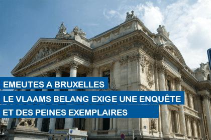 Des jeunes Marocains saccagent le centre de Bruxelles