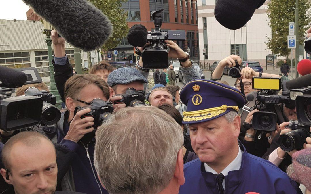 Le Conseil d'Etat annule l'interdiction faite à Geert Wilders et à Filip Dewinter de se promener à Molenbeek