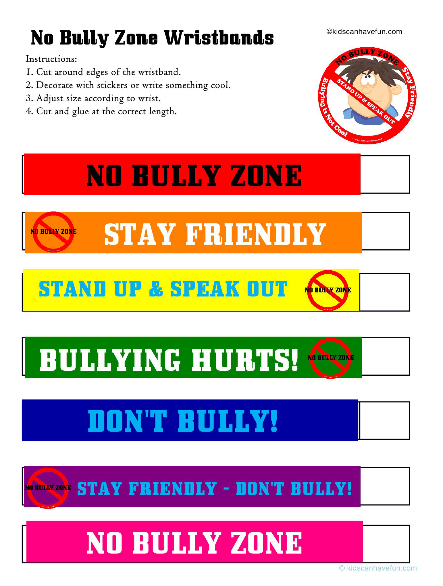 Anti Bully Program Mr Lacroce