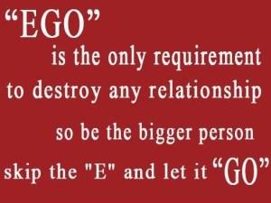 EGO RELATIONSHIP