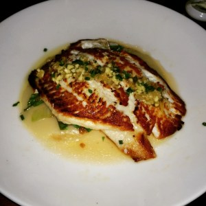 pan seared atlantic flounder