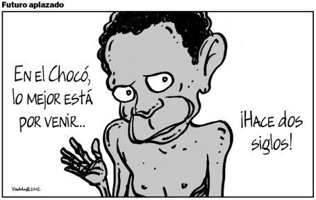 Malas noticias del Chocó... Nada nuevo.