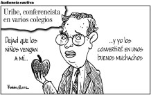Uribe combina todas las formas de lucha.