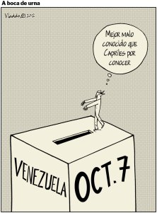 Venezuela reeligió a Chávez.