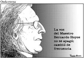 Murió Bernardo Hoyos.