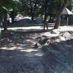 У току је изградња и реконструкција дечијег игралишта иза зграде Конака