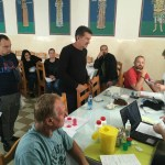Каона: Добровољно давање крви (ФОТО)
