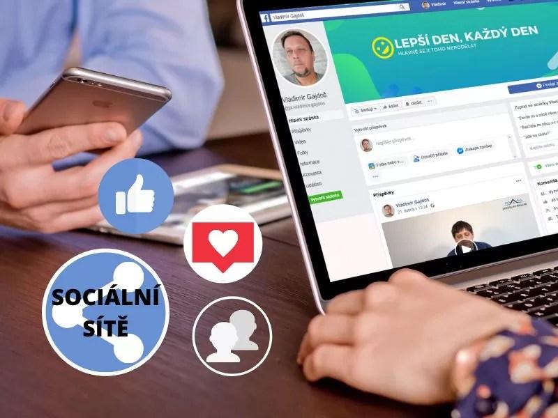 moje služby sociální sítě