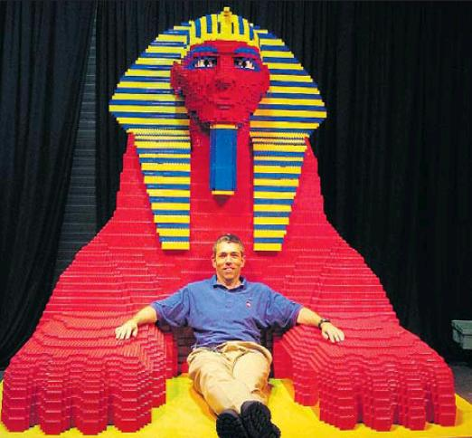 Robin Sather of Abbotsford is Canada's only LEGO Certified Professional, a job he created for himself.
