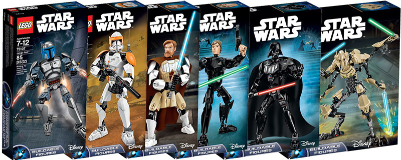 Star Wars Buildable Figures