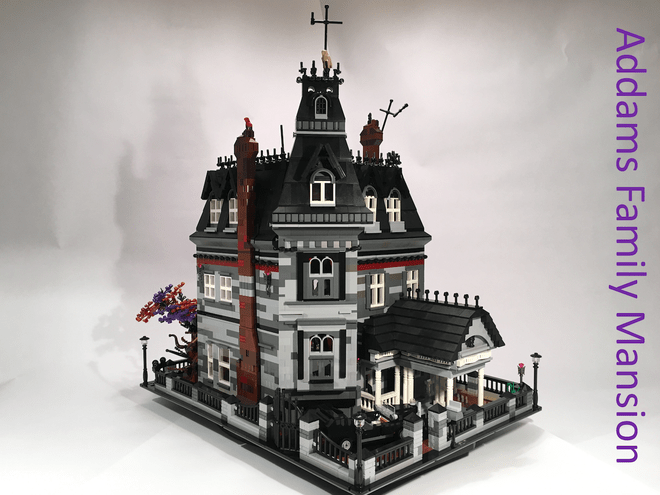 LEGO ideas addams family mansion