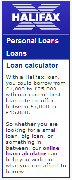 loans Halifax Bank Google Penalty Lifted (?)