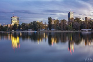 Donau Blue Hour by V-Light