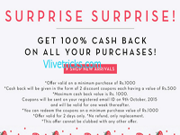 Shopnineteen Loot Women's Clothing at 100% Cashback