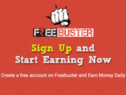 (Unlimited Trick) Free Buster App -Download & Sign up to Get Rs. 20 + Refer & Earn