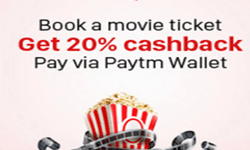 (BMS) Bookmyshow Offers, Coupons, Promo Codes Feb 2017 -100% Cashback by Wallets