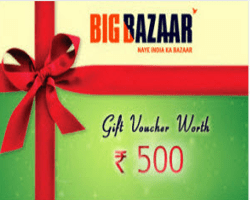 Nearbuy Big Bazaar Offer -Get Rs 500 & Rs. 1000 Voucher at 65% Off