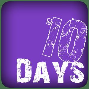 10 days app