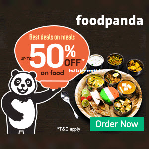 Foodpanda Offers & Coupons Code Feb 2017 (40% Off + 25% Cashback)