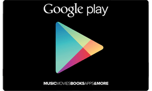 Buy Google Play Gift Cards /Recharge Codes India Online -5% Snapdeal Off