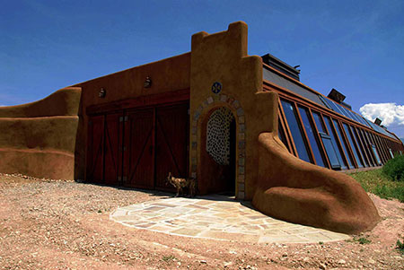 earthshipgaragedoor