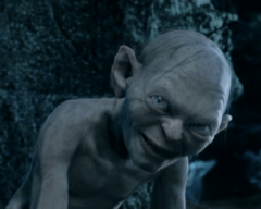 Gollum Two_Towers lord of the rings image