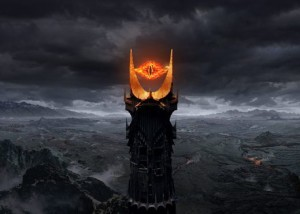 Villain Matrix Stats: Dark Lord Sauron - Silmarillion, Hobbit, Lord of the Rings - http://vlnresearch.com/villain-matrix-stats-sauron - Sauron Eye of Barad Dur tower - Lord of the Rings image