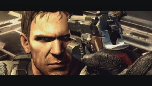 Albert Wesker Resident Evil 5 vs Chris Samurai Edge
