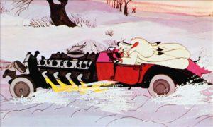 Cruella De Vil 101 Dalmatians mad car