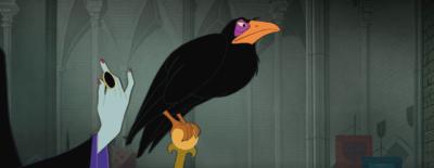 Sleeping Beauty - Maleficent - Diaval pet