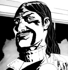 the walking dead comic graphic novel the governor